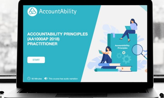 AccountAbility and Earth Academy Launch Sustainability Management Principles Course